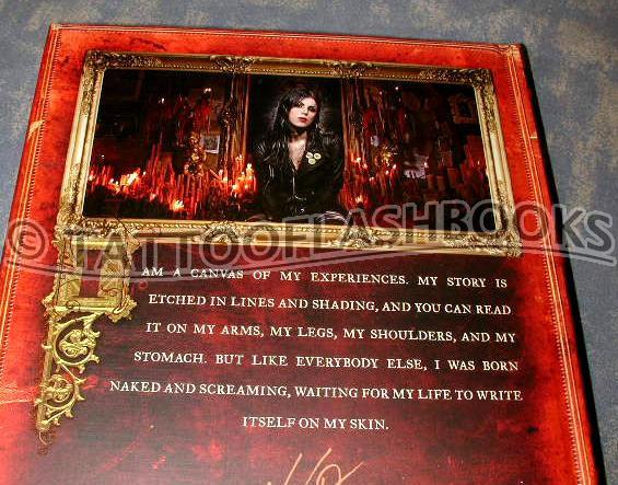 Kat Von D High Voltage Tattoo Book